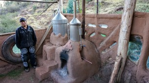 essential oil distillery